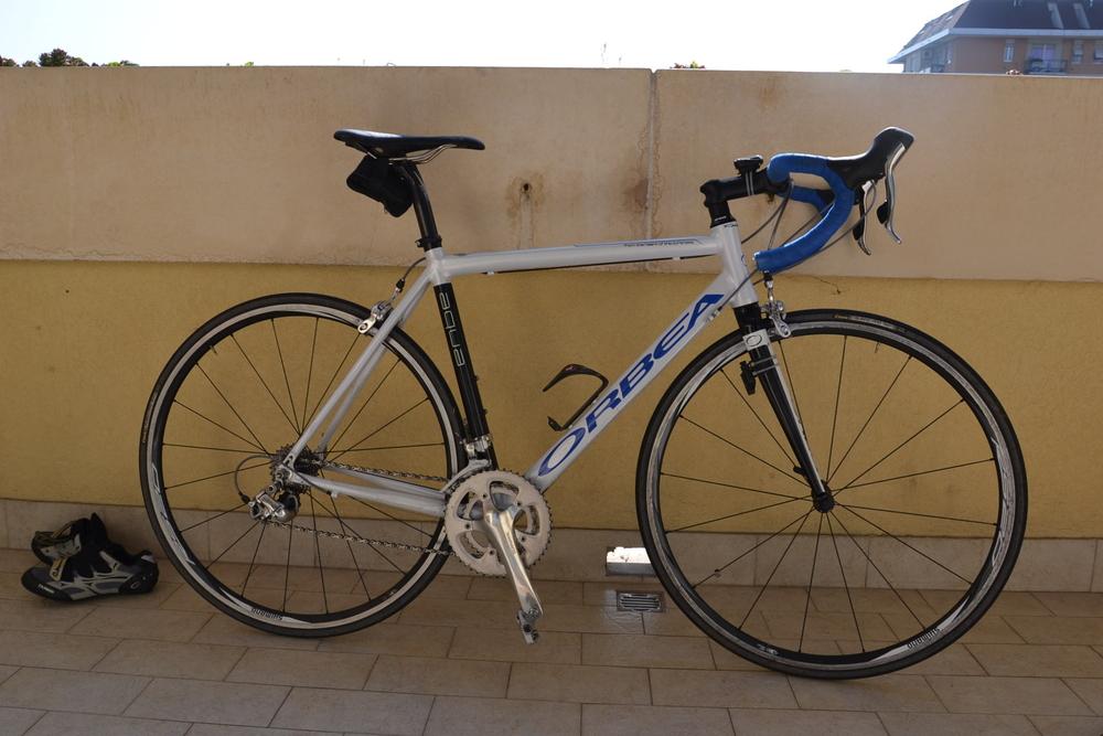 Vendo Bici Corsa Usata Orbea Aqua Rrcm Road Runners Club Milano